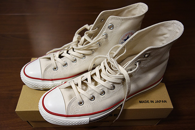 コンバース ALL STAR J HI MADE IN JAPAN