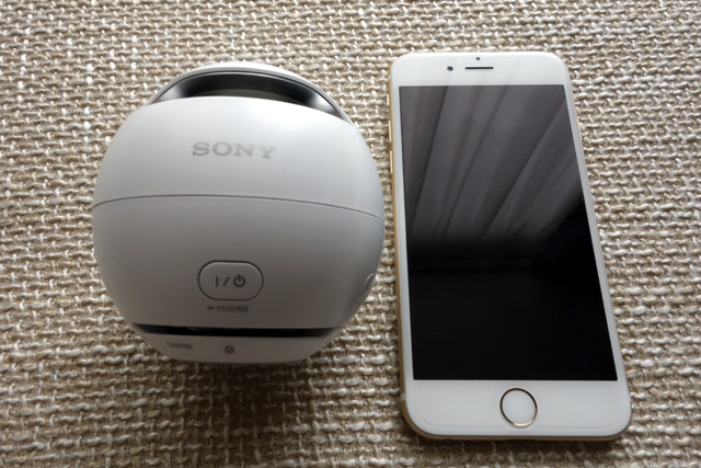 ラジコのお供~SONY ワイヤレスポータブルスピーカー Bluetooth対応 防水仕様 SRS-X1~