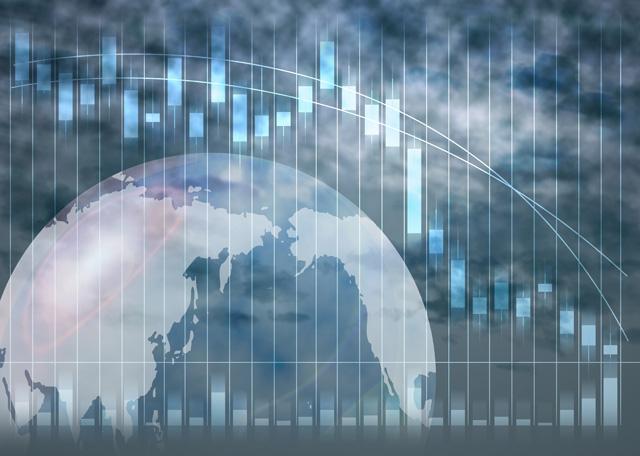 世界同時株安で・・・