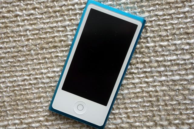 iPod nano 第7世代 水没