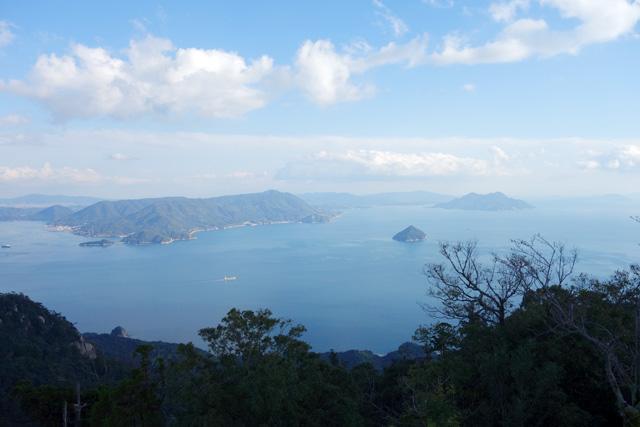 弥山山頂からの眺め