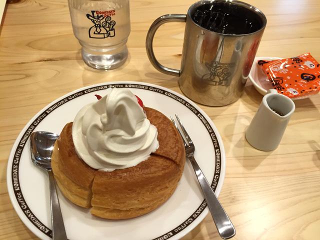 ミニシロノワールとアイスコーヒー
