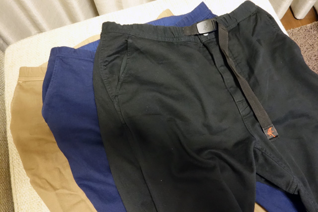 nonnativeのCLIMBER EASY PANTS OVERDYED C/P TWILL STRETCH BY GRAMICCI