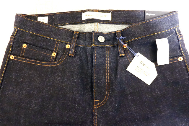 Gapフラッグシップ銀座で購入~1969 selvedge stretch skinny fit jeans~