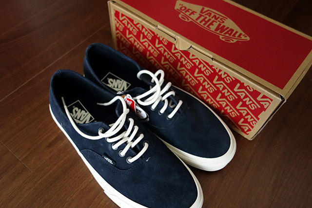 VANSのスニーカー「AUTHENTIC DECON -SCOTCHGARD- BLUE GRAPHITE」を購入