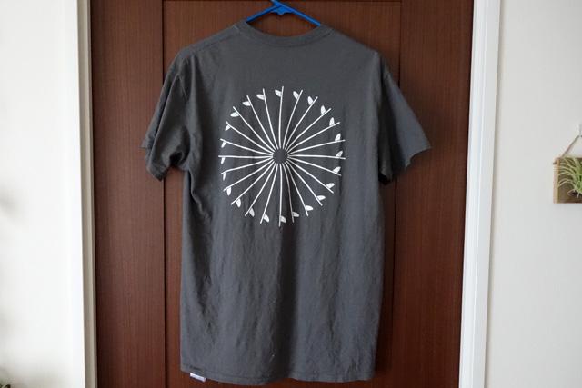 夏の一枚「THE DAY PACIFIC WHEEL Tシャツ」