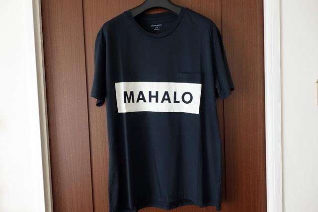 夏の一枚「QUALITY PEOPLESのMAHALO ポケットTシャツ」