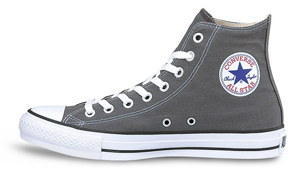 コンバース CHUCK TAYLOR CANVAS ALL STAR HI チャコール