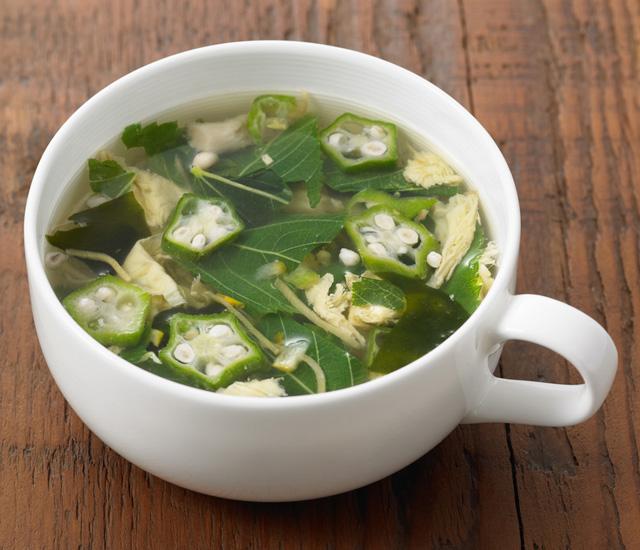 無印良品「食べるスープ オクラ入りねばねば野菜」