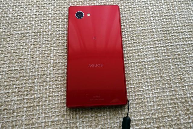 AQUOS mini SH-M03 ストラップホール