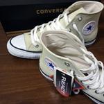 春に向けて「converse(コンバース) SUEDE ALL STAR COLORS R サンドベージュ」を購入