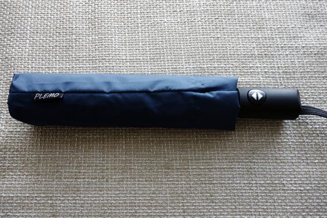 PLEMO ワンタッチ自動開閉 折り畳み傘