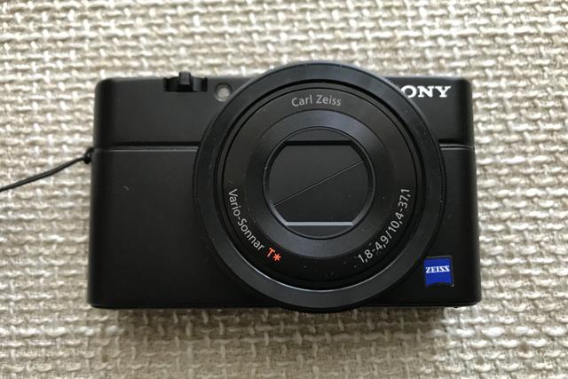 SONYサイバーショットDSC-RX100