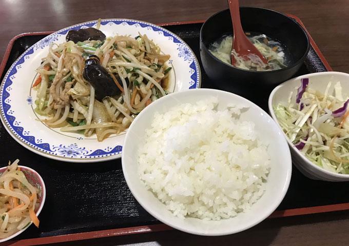 ニーハオ目黒店 野菜炒め定食