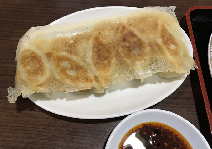 ニーハオ目黒店 羽根つき餃子