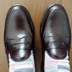 ALDENのペニーローファー #984 BURGUNDY LEISURE HANDSEWN PENNY LOAFERSを購入