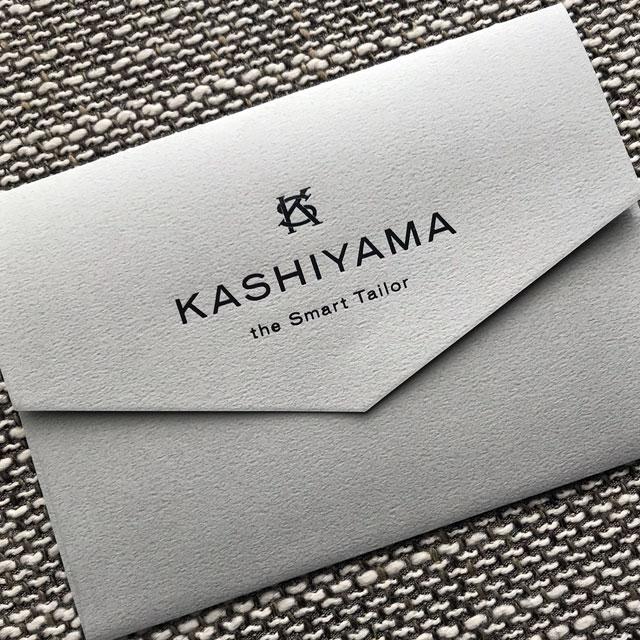 KASHIYAMA the Smart Tailor (オンワード樫山)でスーツをオーダー