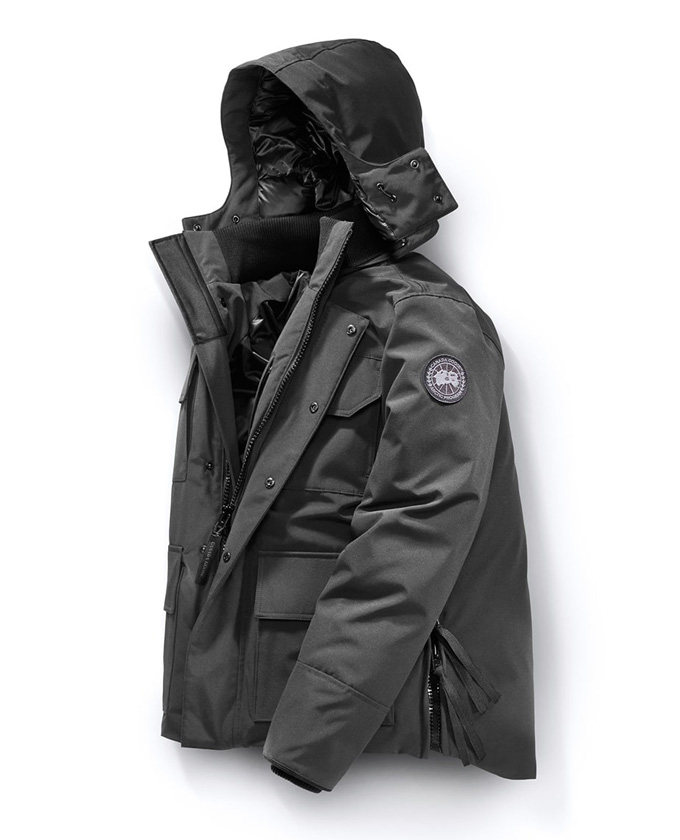 CANADA GOOSE カナダグース MAITLAND PARKA BLACK LABEL