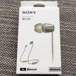 SONYのワイヤレスイヤホン WI-C310を購入