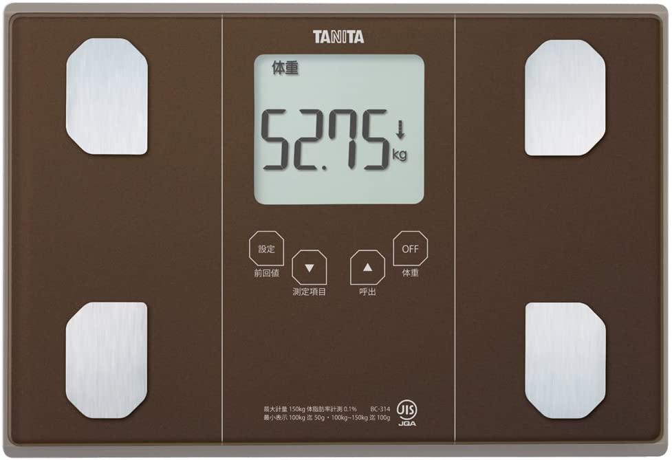 タニタ 体組成計 BC-314-BR