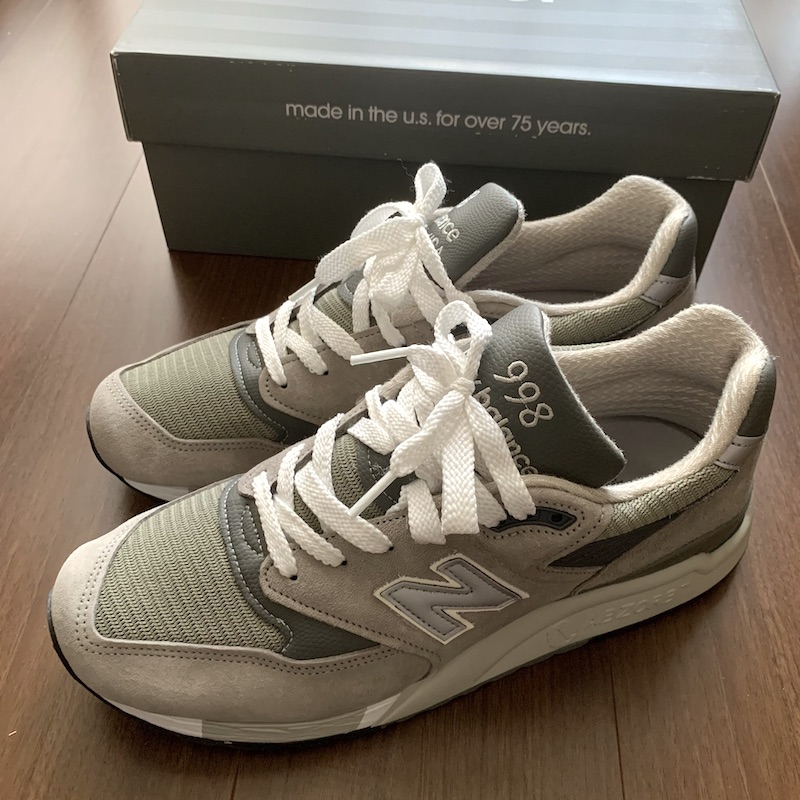 NEW BALANCE M998GY MADE IN U.S.A.
